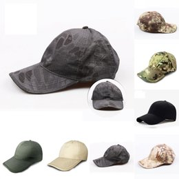 7964e6a63ed Red militaRy hats online shopping - Baseball Cap Army Military Camouflage  Cap Outdoor Sun Hats Hunting