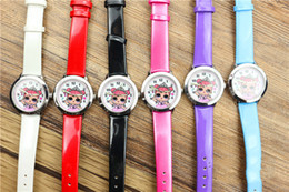 Wholesale Children s cartoon little girl Princess quartz watch cute fashionable children s belt wristwatch customized manufacturer supply