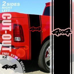 $enCountryForm.capitalKeyWord Australia - For 1500 2500 3500 Truck Bed Side Stripe 4x4 Dodge Vinyl Decal Sticker 20A