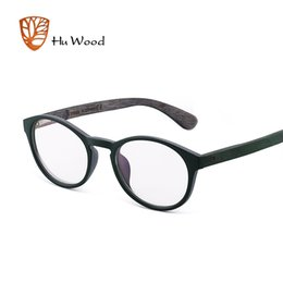 862a8db8cd7 HU WOOD 2018 Brand Design Grade Eyewear Frames Plain Sports optical frame  eye glasses frames for women Men Male Eyeglass GR6004