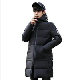 8a185032ea2 2018 Chaquetas Hombre Winter Jackets Mens Winter Men s Parka Long Jacket  Cotton Padded Warm Hooded Clothes Windbreaker Coat