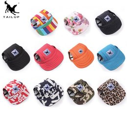 clothe hats Canada - 21018 Pet supplies dog clothes accessories baseball duck tongue visor hat multi-color dog visor hat free shipping