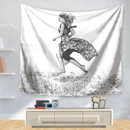 $enCountryForm.capitalKeyWord NZ - 150*130cm Tapestries Hand-painted Beach Beauty Tapestry Polyester Wall Carpet Living Room Throw Yoga Mat Towel Beach Shawl
