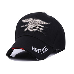 Navy hats online shopping - Outdoor Sports Amry Baseball Caps For Men And Women Navy Seals Hat Hip Hop Adjustable Bone Snapback Popular kb BB