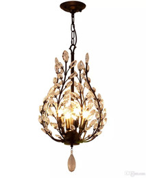 $enCountryForm.capitalKeyWord UK - 4 Lights Chandelier Ambient Light - Crystal Mini Style, Rustic   Lodge Vintage Lantern Country Traditional   Classic Retro Modern   Contempo
