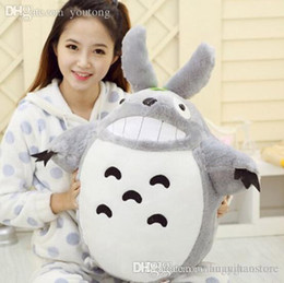 quality plush toys Australia - Wholesale-Hot Sale 15.7''40CM Staffed Totoro Plush Toys Famous Cartoon Toys Brinquedos Dolls High Quality Dolls Factory Price