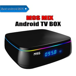 Tv Androids Octa Core Canada - Smart M9S MIX Android TV Box 2GB 16GB Amogic S912 Octa Core BT4.0 Dual Wifi 2G 5.8GHz 1000M Gigabit 4K 3D UHD Streaming Media Player