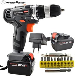 Tools For Drill Australia - 25V Electric Drill Power Tools Screwdriver Cordless Battery Mini Wireless Drill Tool Machine Electric Screw driver For Set Power