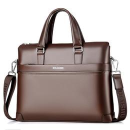 Hand-held Men s Travel Leather Briefcases Men Large Shoulder Bag Document  Briefcase Business Male Laptop Tote Office Handbag 341d2720dc84a