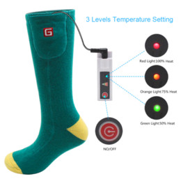 Heat Socks Canada - Rechargeable Battery Heated Socks Kit for Chronically Cold Feet for Women and Men wholesale kit kits