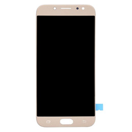 Samsung Galaxy Lcd UK - Genuine Super Amoled Display For Samsung Galaxy J7 Pro J730 J7 2017 LCD Display Touch Screen Digitizer Assembly Replacement