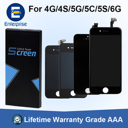 China Best Price Grade A+++ For iPhone 6 Plus LCD Display Digitizer Touch Screen Assembly For iPhone 5 5C 5S SE Repair Part For iPhone 6G 4 4S supplier prices for iphone 5c suppliers