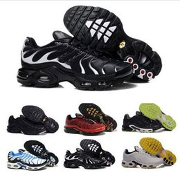 $enCountryForm.capitalKeyWord Canada - Cheap Hight Quality Brand New Air Sports TN Running Shoes For Men Black White Mens Athletic jogging Tennis Shoes Grey Man Training Sneakers