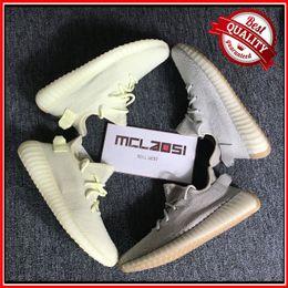 MCLAOSI VENDER MELHOR 350v2, Nova Cor Estática, manteiga e gergelim tênis com 350v2 calçados esportivos de melhor qualidade