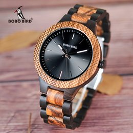 Discount bird products - BOBO BIRD V-D30-1 Wood Watches Men Quartz Luxury Business Clock Quality Chinese Products New Arrivals 2018