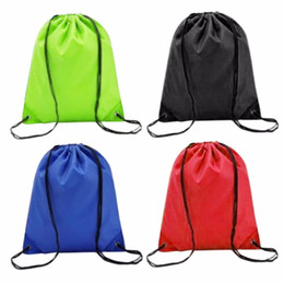 3454d7365ec8 2018 New Swimming bags Drawstring Beach Bag Sport Gym Waterproof Backpack  Swim Dance Bag