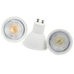 Ceiling Spotlight Bulbs UK - High Power MR16 6W LED Bulb AC 220V 2835 SMD GU10 LED Light With Protection Cap LED Spotlight Lamp For Ceiling