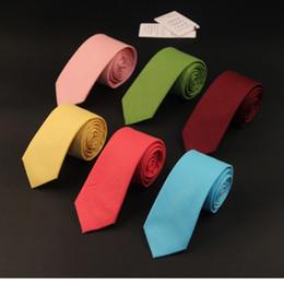 Gray Suit Champagne Tie Australia - Wedding Party 145*6CM Plain Floral Tie Fashion Cotton Linen Ties For Men Women New Corbatas Suits Vestidos Necktie Mens Suit Ties Gravatas