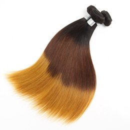 Discount 22 real human hair extensions 2018 22 real human hair 2018 22 real human hair extensions hot sale brazilian ombre straight hair weft 3 bundles 100 pmusecretfo Choice Image