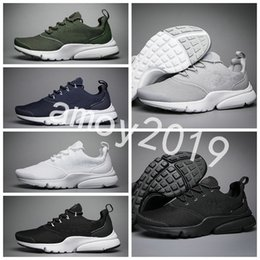 New 2018 Presto Fly Ultra Olympic BR QS Men Women Running Shoes Navy Black  Fashion Casual Prestos Mens Trainers Sports Sneakers Size 36-45 d11545412