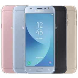 SamSung galaxy dual Sim phoneS online shopping - Refurbished Original Samsung Galaxy J3 J3300 Dual SIM inch Quad Core GB RAM GB ROM MP G LTE Unlocked Smart Phone DHL