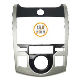 Discount kia forte stereo - Car Stereo Radio Fascia Panel Frame Trim Dash Face Plate Installation Mount Kit For KIA Cerato Coupe Forte Coupe OEM 2DI