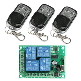 $enCountryForm.capitalKeyWord NZ - 433 Mhz Universal 12V 4CH Relay Wireless Remote Control Switch Receiver Learning Code 1527 Module and RF 433Mhz Transmitter Kit