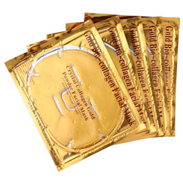 China 5Pcs Lot Skin Care Facial Mask Gold Collagen Oil Control Wrapped Mask Collagen Powder Face Mask for Moisturizing Firming supplier female powder suppliers