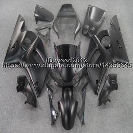 Cowl Fairing Australia - 23colors+5Gifts black motorcycle bodywork cowl ABS fairing body kit for Yamaha YZF R6 1998 1999 2000 2001 2002 YZF-R6