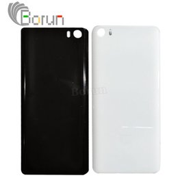 New Mi Phone Canada - 100% New Original For Xiaomi Mi5 Battery Cover Glass Cover Durable Back Protective Case For M5 Mi 5 Mobile Phone