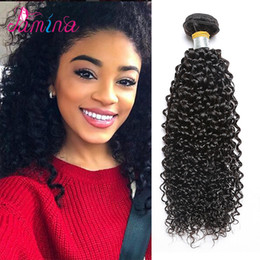 Burmese Curly Hair Weave Australia - 8A raw burmese curly hair 100% remy curly human hair extensions wholesale virgin hair vendors cuticle aligned raw virgin