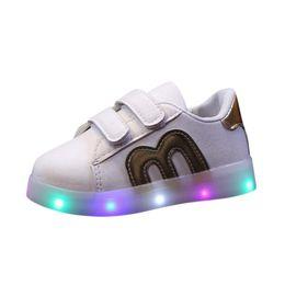 $enCountryForm.capitalKeyWord UK - BMF TELOTUNY Fashion Toddler Kids Skate Shoes Children Baby Shoes LED Light Up Luminous Sneakers Casual Apr19 Drop Ship