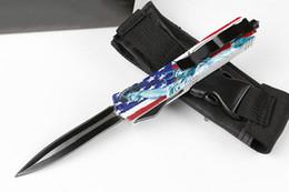 $enCountryForm.capitalKeyWord Canada - MT Flag Handle Sword Ant Auto Tactical Knife 440C Black Blade EDC Pocket Knives With Tactical Nylon Sheath