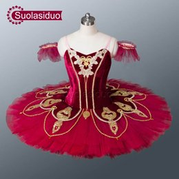 red white tutus Australia - Adult Red Professional Ballet Tutu Black The Nutcracker Stage Performance Costumes Children Ballet Dance Apperal White Girls Ballet Skirt