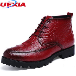 designer oxford shoes 2018 - High Quality Leather Luxury Designer Casual Male Ankle Boots Business Formal Dress Men Shoes Oxfords Wedding Footwear Ch