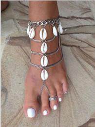 1a0540f29f52e beautiful sexy body 2019 - 2019 Beach Shell Feet Ankle Bracelet Chain  Beautiful Vacation Sexy Leg
