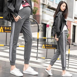 $enCountryForm.capitalKeyWord NZ - Pregnant women pants nine points thick cotton casual autumn tide mom big size wearing leggings