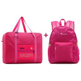 61b877ea8e 2018 Fashion Women Travel Bags WaterProof Nylon Folding Bag Large Capacity Bag  luggage Bags Portable Men Handbags wholesale