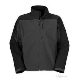 Ladies softsheLL jacket online shopping - 2018 Hot Sale Mens Winter Fleece Apex Bionic Jackets Outdoor Windproof Waterproof Casual SoftShell Warm Face Coats Ladies Kids S XXL