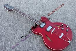 $enCountryForm.capitalKeyWord NZ - Red 335 Jazz Semi Hollow Electric Guitar