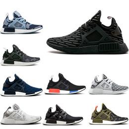 3487e41b784e Classic NMD XR1 Running Shoes OG Zebra Mastermind Japan stripe-black Olive  green Black White navy camo men women sports shoes size 36-45