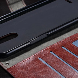 Lg G3 Card Slot NZ - For LG Q6 G3 G5 V10 V30 PU Wallet Leather Case Card Slots Kickstand Frame Phone Case Cover For LG G2 G3 MINI