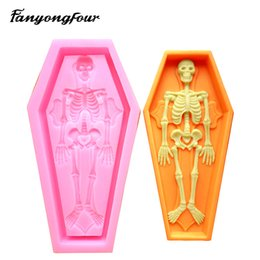 Mold free candle online shopping - 3D Coffin Silicone Mold Cake Mold Chocolate Gypsum Candle Soap Candy Mold Kitchen Bake