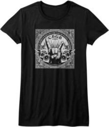 $enCountryForm.capitalKeyWord UK - CBGB & OMFUG Rock Hand & Speakers Womans Fitted T Shirt Music Kawaii Punk Women T Shirt Sexy