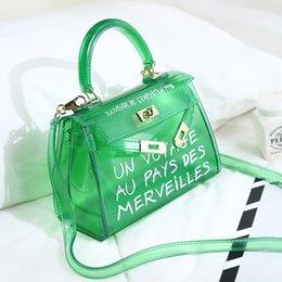 d048f189458e новая мода сумка Сумка ясно желе прозрачный ПВХ женщины мешок конфеты цвет  сумка дизайнер кошелек Bolsa Crossbody мешок