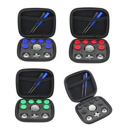 Trocar o polegar analógico varas apertos vara d-pad amortecedor botão para microsoft xbox one elite controller gamepad substituição