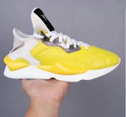 1603f48838a6d 2018 di alta qualità nuovo y-3 kaiwa chunky uomo donna scarpe casual moda  lussuosa giallo nero rosso bianco y3 stivali sneakers183