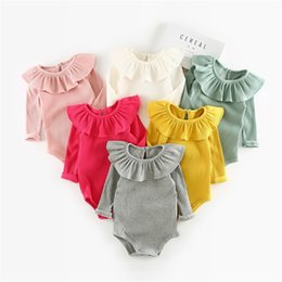$enCountryForm.capitalKeyWord NZ - Rompers Rompers Jumpsuits for Kids Newborn Baby Gifts for Girls Jumpsuits Rompers Long Sleeve Jumpsuit Kids Baby Outfits Clothes