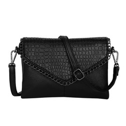 hot 2018 new vintage casual chains alligator women clutch hotsale ladies  party purse shoulder messenger crossbody bags e6f847d8e0eba