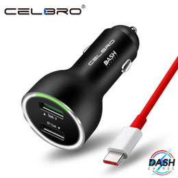 Caricabatteria da auto caricabatterie Dash Charge in metallo Dual USB per OnePlus 6 5T 5 3T 3 Caricabatterie USB originale C One Type Dash One Fast